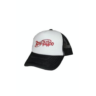 Rose Tattoo Trucker Hat Logo