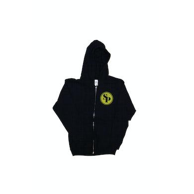 Simple Plan Black Logo Hoody