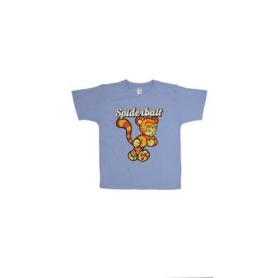 Spiderbait Tiger Light Blue Kids Tshirt
