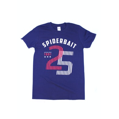 Spiderbait Est 1991 Navy 25 Tshirt