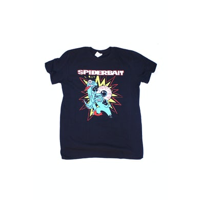 Spiderbait Fighting Black A Day On The Green Tshirt 2016 Tour