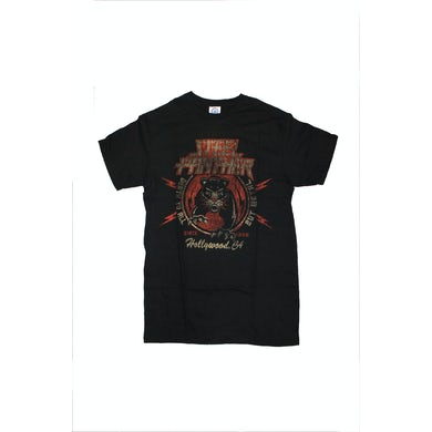 Steel Panther Tiger Black Tshirt