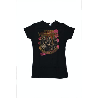 Steel Panther Supersome Black Girls Babydoll Tee