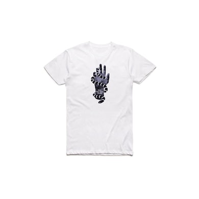 Temper Trap White Hand Tshirt