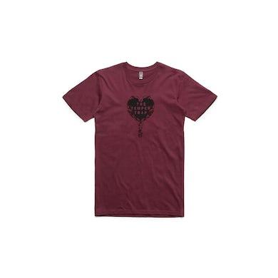 Temper Trap Red Heart Logo Tshirt
