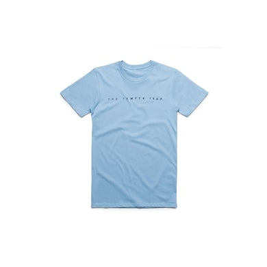 Temper Trap Light Blue Logo Tshirt