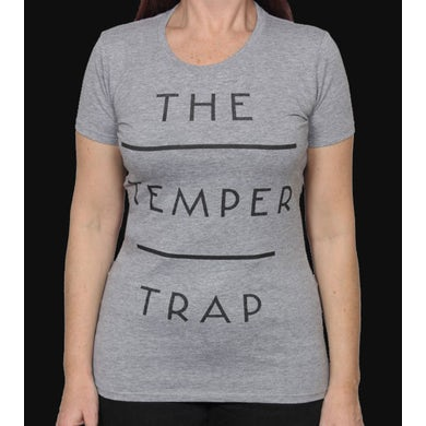 Temper Trap Girl's Stacked Grey T-Shirt