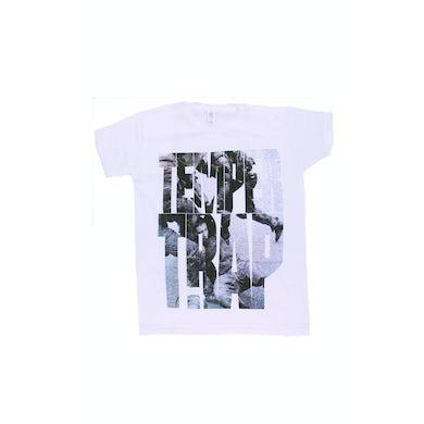 Temper Trap Girl's Machine - White Tshirt
