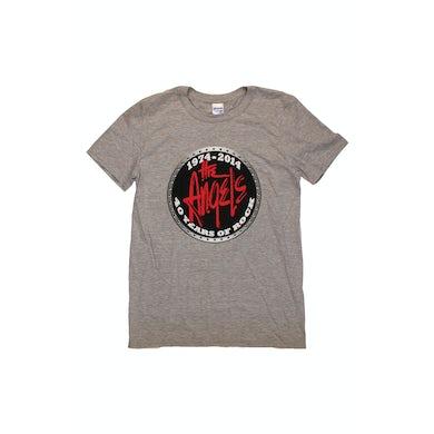 The Angels 40th Anniversary Grey Tshirt w/dates