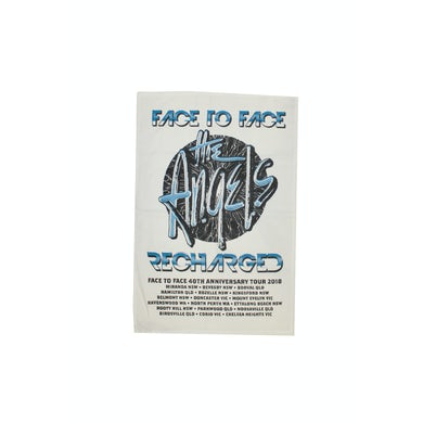 The Angels Face To Face Recharged Tour Tea Towel