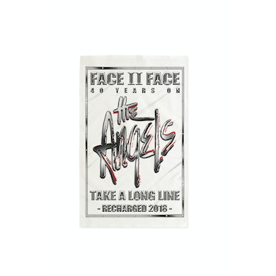 The Angels Face To Face/Take A Long Line Recharged Tour Tea Towel