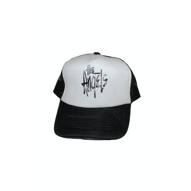 The Angels Trucker Cap Black/White Logo