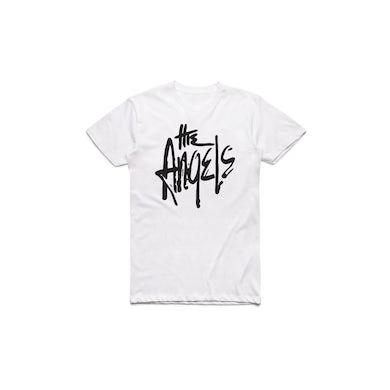 The Angels Classic Logo White Tshirt