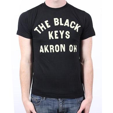 The Black Keys Motorcycle Black Mens Tshirt