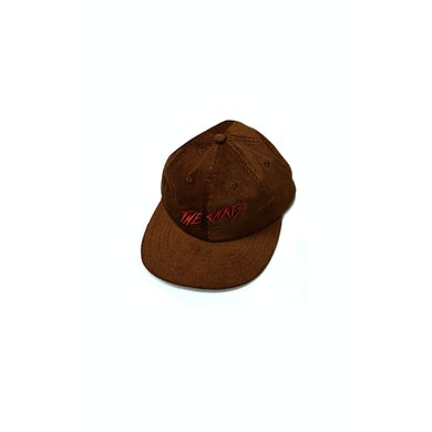 The Chats Chats Red Logo Brown Cordoroy Hat