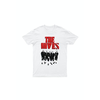 The Hives Berets White Tshirt