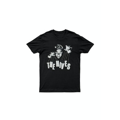 The Hives Puppeteer Black Tshirt w/ 2014 dates