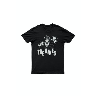 The Hives Puppeteer Black Shirt w/ 2015 tour dates