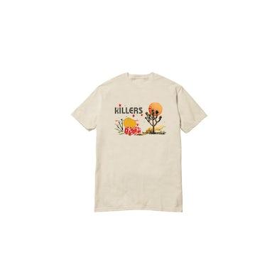 The Killers Joshua Tree Desert Natural Tshirt