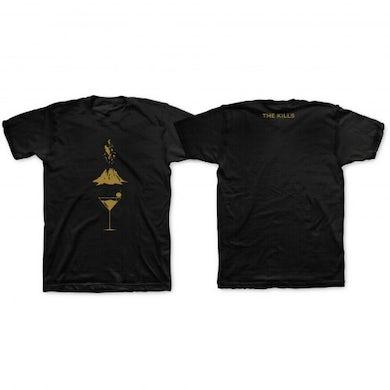 The Kills Men's Black Ash & Ice T-Shirt