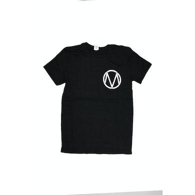 The Maine Pocket Logo/Letters Black Tshirt