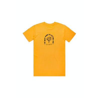 The Maine My Best Habit Gold Tshirt