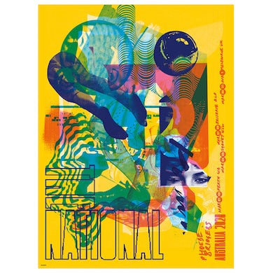 The National Aus NZ Screen Printed Tour Poster (Proceeds Donated to  Mallacoota Creative Recovery Fund)