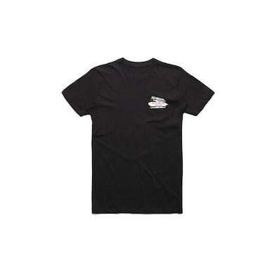 The Screaming Jets Rock Radio Riot Tour 2018 Black Tshirt w/dateback