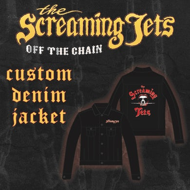 The Screaming Jets Denim Jacket Embroidered (Limited)