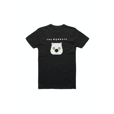 The Wombats Tour Black Tshirt