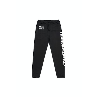 Thundamentals Black Tracksuit Pants