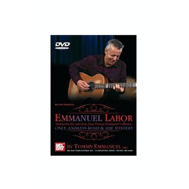 Tommy Emmanuel Emmanual Labor DVD