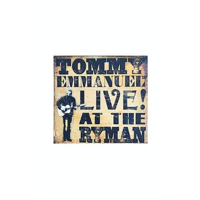 Tommy Emmanuel Live At The Ryman CD