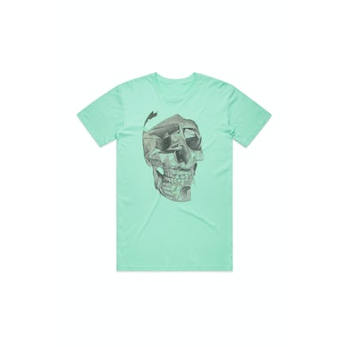 Unknown Mortal Orchestra Skull Green Tshirt