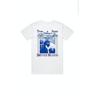 Weyes Blood True Love White Tshirt