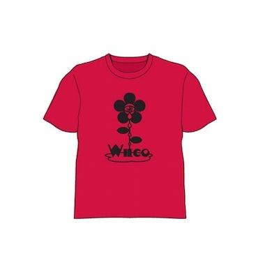 Wilco Flower Red Tshirt