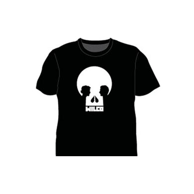 Wilco Skull Black Tshirt
