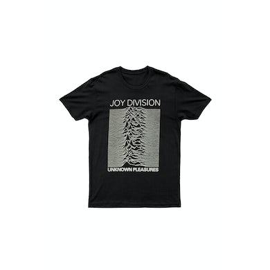 Joy Division Unknown Pleasures Black Tshirt