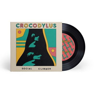 "Crocodylus Social Climber / Camouflage 7"" Black (Vinyl)"