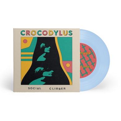 "Crocodylus Social Climber / Camouflage 7"" Baby Blue (Vinyl)"