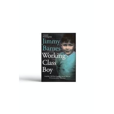 Jimmy Barnes 'Working Class Boy' Book - Signed Copy!