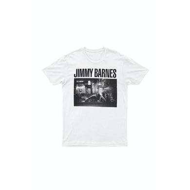 Jimmy Barnes White 'Soul Searchin' Tour T-shirt
