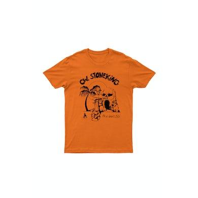 C.W. Stoneking On a Desert Isle Orange Tshirt