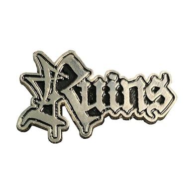RUINS - 'Logo' Metal Pin