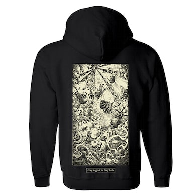 'Tiny Angels In Tiny Hells' Pullover Hoodie