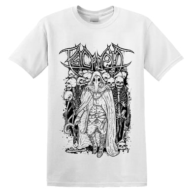 PSYCROPTIC - 'Carriers of the Plague (White)' T-Shirt