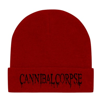 CANNIBAL CORPSE - Red 'Logo' Beanie