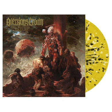 AVERSIONS CROWN - 'Hell Will Come For Us All' Yellow & Black LP (Vinyl)