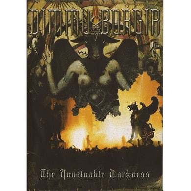 DIMMU BORGIR - 'The Invaluable Darkness' 2DVD/CD