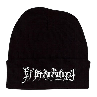 FIT FOR AN AUTOPSY - 'Logo' Roll Up Beanie